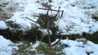 Wasserrad mit Fallhammer
