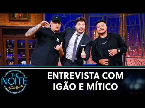 """Entrevista com Igão e Mítico, do """"PodPah""""   The Noite (27/08/21)"""