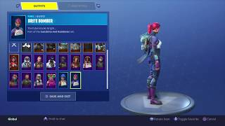Fortnite: Battle Royale - New Back Bling - Offworld Rig (The Visitor) - On Brite Bomber Skin