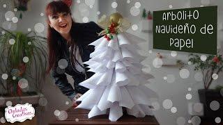 Arbol Navideñocon Hojas Blancas :: Chuladas Creativas