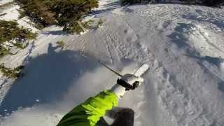 GoPro Hero3+ second video skiing at the Canyons Park City what fun toy! Thumbnail