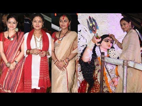 Rani Mukerji , Sumona Chakravarti & Other Celebs Played Sindur Khela On Vijayadashami