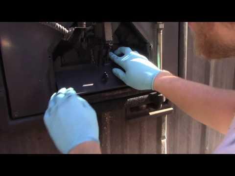 Outdoor Wood Boiler Maintenance! New Door Damper! EP 15