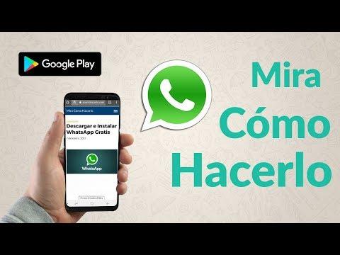 Instalar y Descargar WhatsApp Ya Gratis
