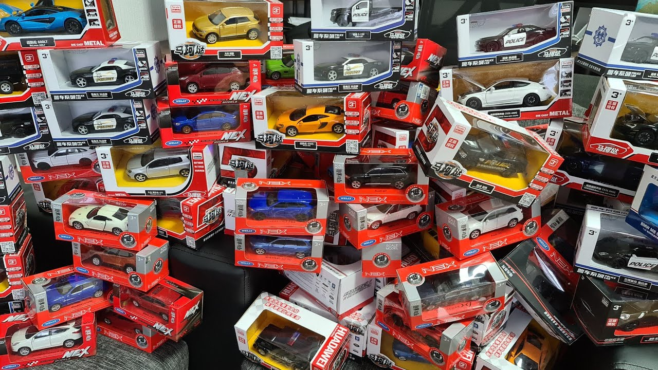 So many Car Models bought , soon unboxing Cars, subscribe