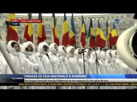 Imnul National De Stat 1 Decembrie 2014 - Bucuresti