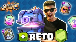 EL MAYOR RETO ABRIENDO COFRES SUPERMA?GICOS!!  - Clash Royale