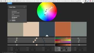 Comment Créer une Palette de Couleurs avec des Couleurs Adobe CC