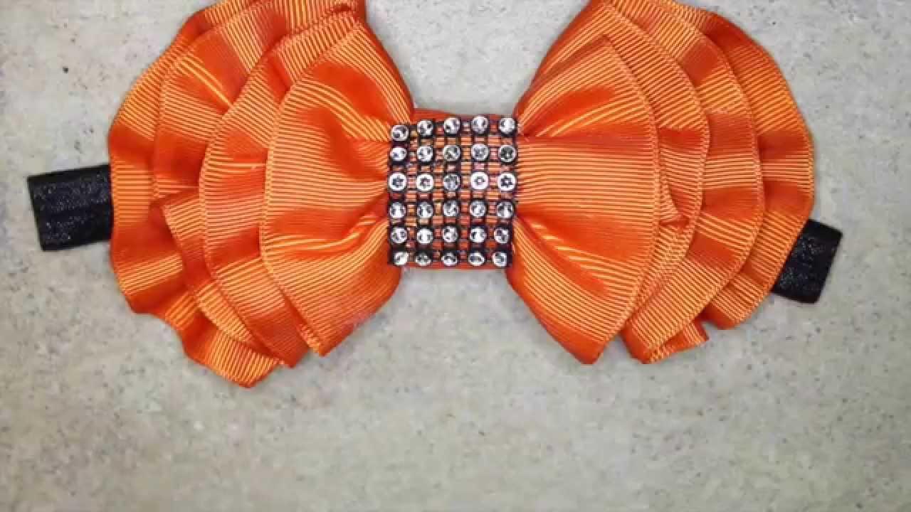 Como hacer un mo o para diadema mo o elegante elegant - Material para hacer diademas ...