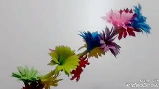 Paper stick flower