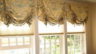 видео Необычные шторы своими руками: рекомендации по их созданию (фото)