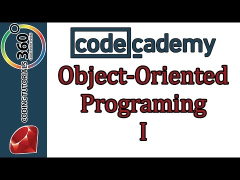 Learn Ruby with Codecademy: Object Oriented Programming I