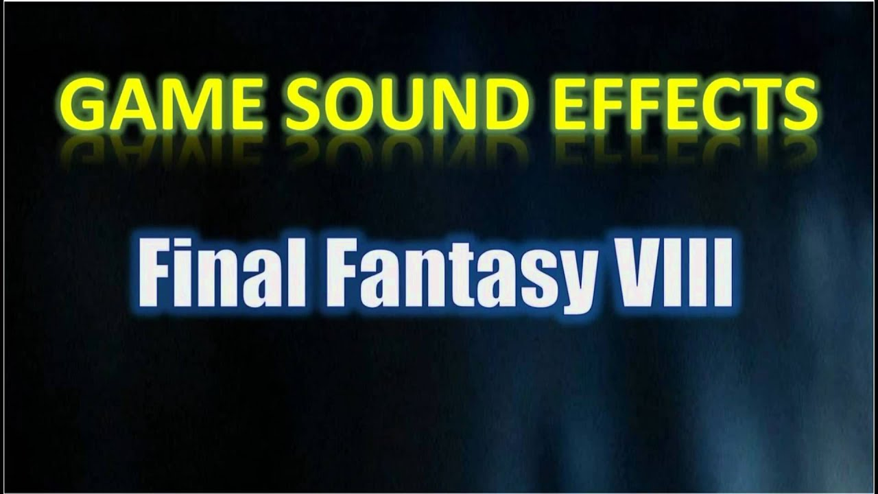 Final fantasy viii sound effects car open door youtube for Door opening sound effect