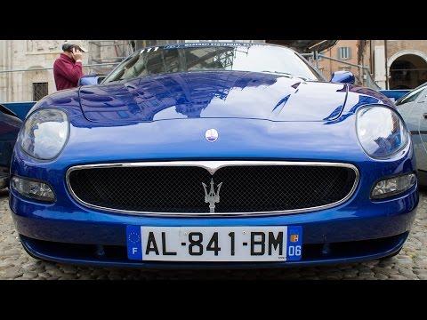BLUE MASERATI 4200 SPYDER CAMBIOCORSA - MASERATI100 2014 HQ