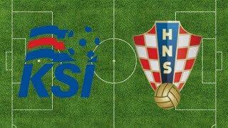 2018 FIFA World Cup Simulation: Iceland vs. Croatia #ISLCRO