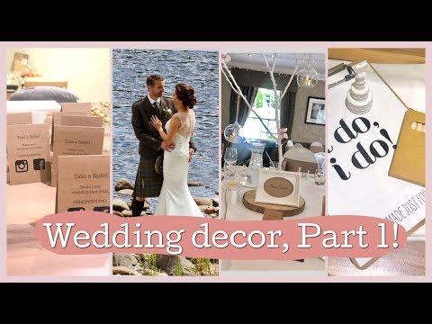 Wedding Decor | Wedding Planning series | DIY Budget Wedding