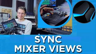 How to sync Mixer View with Faderport and Studio One Remote