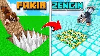 FAKİR TUZAKLI KAYDIRAK VS ZENGİN TUZAKLI KAYDIRAK! 😱 - Minecraft