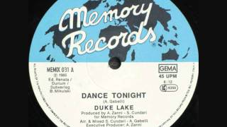 Duke Lake - Dance Tonight (Swedish Remix).1985