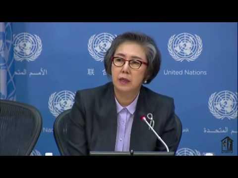 Yanghee Lee (UN Special Rapporteur) on human rights in  Myanmar
