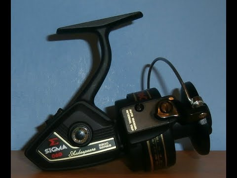 Shakespeare Sigma 2200 060 - Japan, 1980 - Great Fixed Spool Spinning Reel