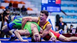 Акжол Махмудов победил Олимпийского чемпиона