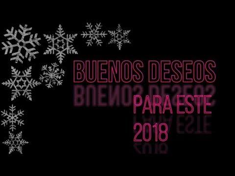 BUENOS DESEOS PARA EL 2018!