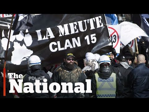 Members of La Meute Facebook group part of Canadian military
