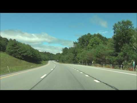 New York - Interstate 87 North (Adirondack Northway) - Mile Marker 60 to 80