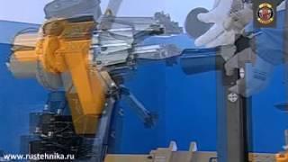 Шиномонтажный стенд для колес спецтехники, тракторов, грузовиков Nussbaum(Специализированный стенд Nussbaum для демонтажа колес грузовых автомобилей, тракторов, спецтехники. Широкий..., 2015-01-04T16:19:38.000Z)