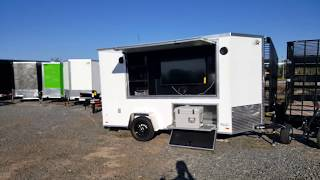 6 x 12 tailgating trailer party trailer game trailer