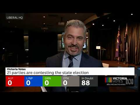 Victoria State Election 2018 (ABC News) Part 1