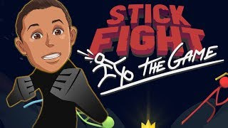 FUNNIEST MULTIPLAYER GAME EVER!   Stick Fight: The Game Gameplay PART 1