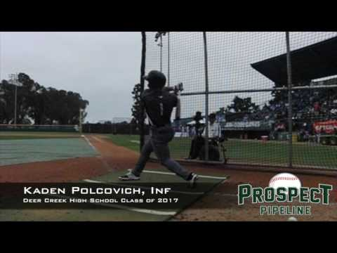 Kaden Polcovich, Inf, Deer Creek High School, Swing Mechanics at 200 FPS