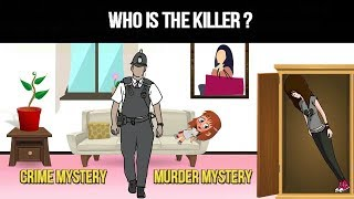 Murder Mystery Popular Riddle In Hindi | Crime Mystery Riddle | Animated In Hindi # 1