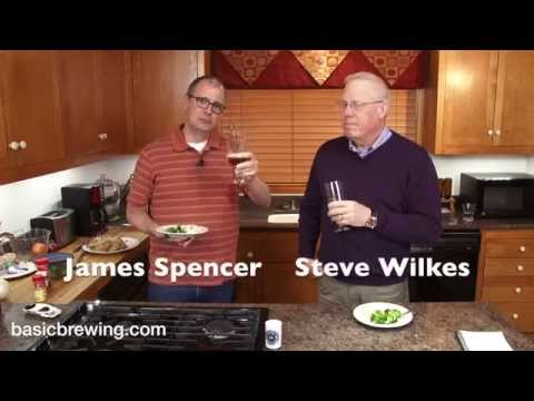 English Barleywine With Brew Day Chicken - Basic Brewing Video - February 16, 2015