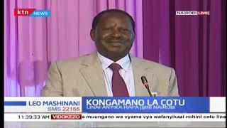 Raila Odinga ahutubia kongamano la COTU