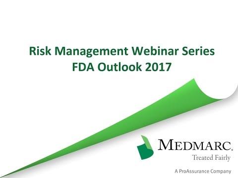 FDA Outlook 2017