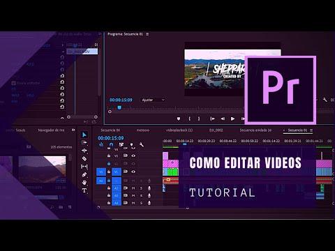 Como Hacer Videos Profesionales | Edicion de Video con Adobe Premiere CC 2017