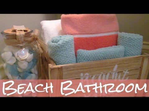 Beach Bathroom Tour - Half Bath