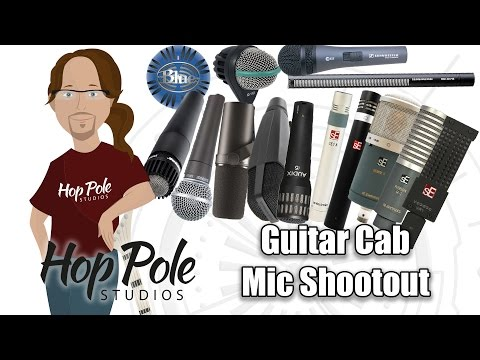 Guitar Cabinet Microphones - Dynamic, Condenser or ribbon? Metal rhythm + lead