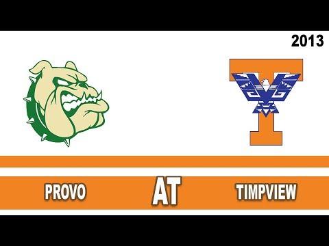 Volleyball: Provo High School @ Timpview High School Utah