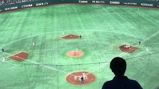 2018/11/9 日米野球2018 侍ジャパン VS MLB選抜 東京ドーム ※照明の関係...