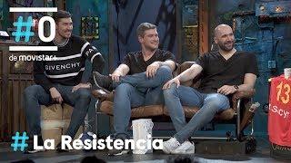 LA RESISTENCIA - Entrevista a Aginagalde, Cañellas y Dujshebaev   28.01.2020