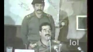 الشهيد صدام حسين يكشف حقيقة نظام الأسد في سوريا وعمالته لايران وإسرائيل
