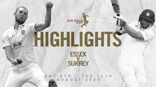 Will Jacks hammers a first-class fifty | Essex v Surrey - Day Two highlights - Bob Willis Trophy