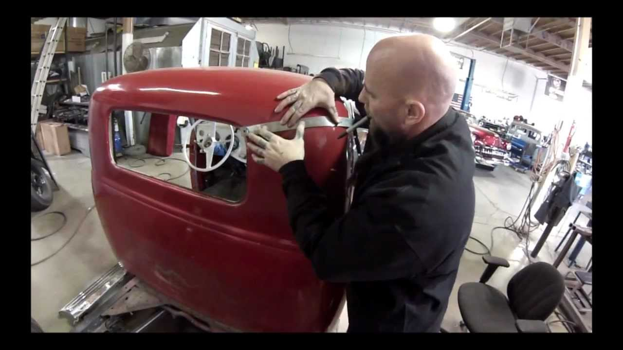 3 To 5 Window Conversion 1954 Chevy Truck Youtube