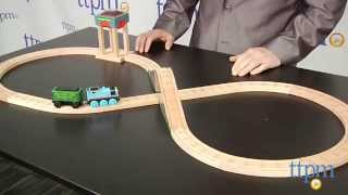Thomas & Friends Wooden Railway Coal Hopper Figure 8 Set From Fisher-price