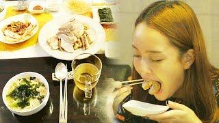 '먹방요정' 조윤경, 외할머니 밥상에 식욕 폭발 @아빠를 부탁해 20150823