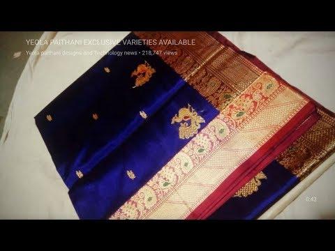 Maharani pure silk paithani rs. 14000 whatsapp 9011917281